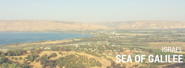 Israel landscapes - Sea of Galilee 002